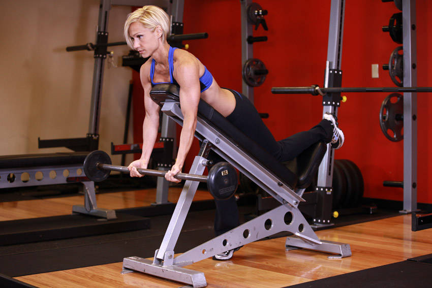 Amazing Spider Curls Incline Bench Part - 8: Charming Incline Barbell Bench Part - 10: Barbell Curls Lying Against An  Incline
