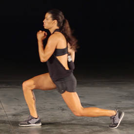 Jump Lunge To Feet Jack