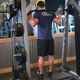 Smith Machine Reverse Calf Raises