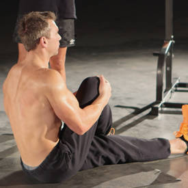Seated Glute Stretch image