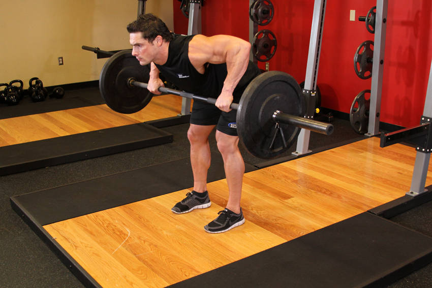 how to set up t bar row