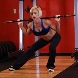 Barbell Side Split Squat