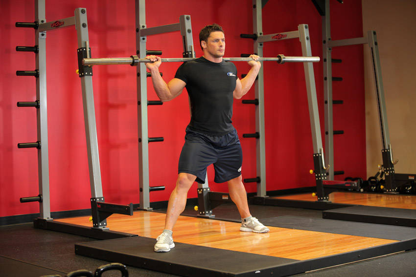 Barbell Side Split Squat Exercise Guide and Video