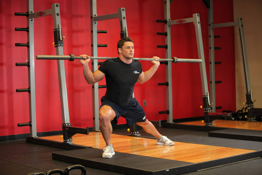 how to set up for barbell hip thrusts