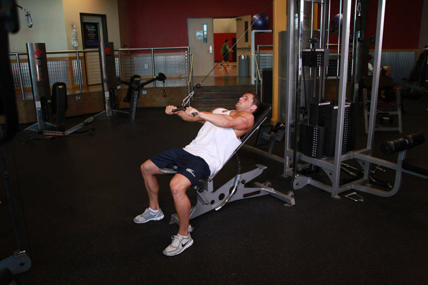 Cable Incline Pushdown image