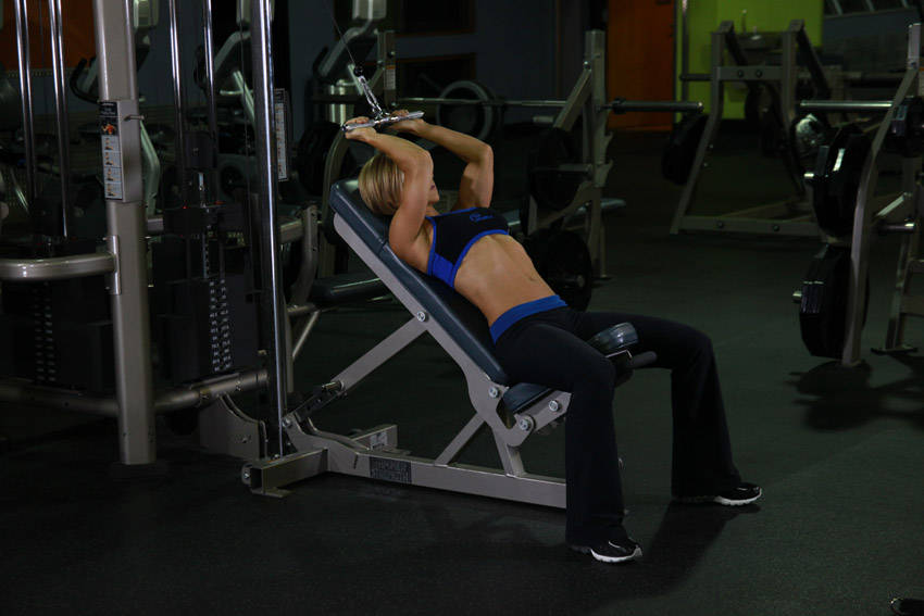 incline tricep extension - photo #21