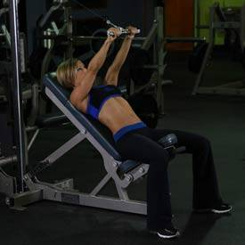 incline tricep extension - photo #14