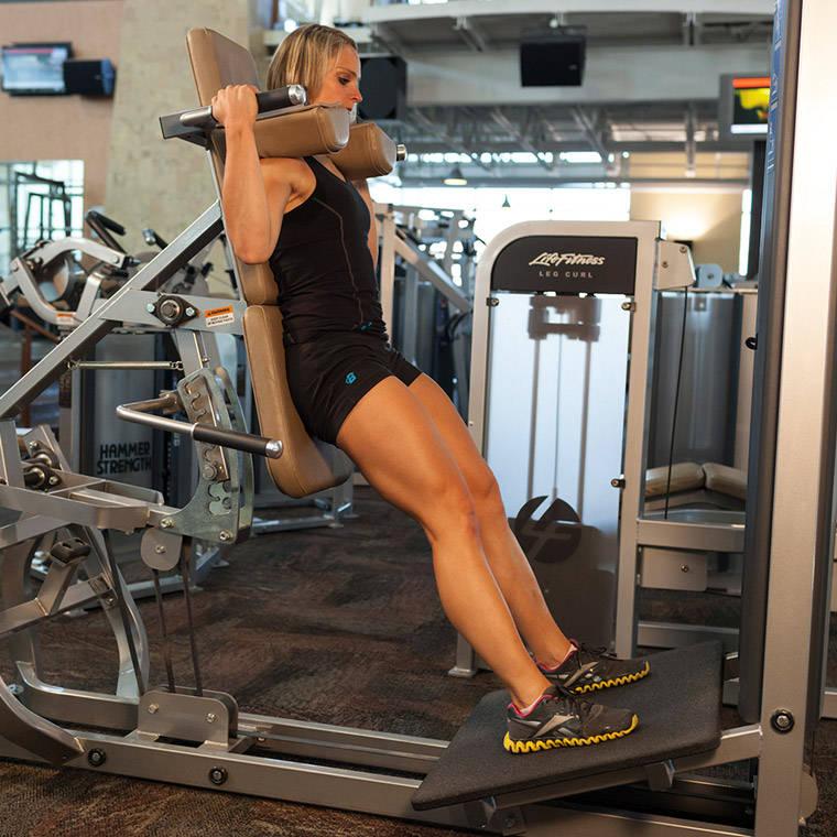 squat exercise machine
