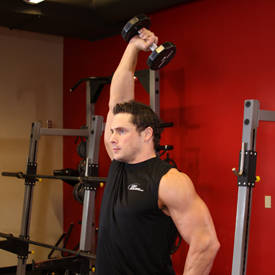 Dumbbell One-Arm Triceps Extension