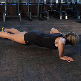 Staggered Push-Up