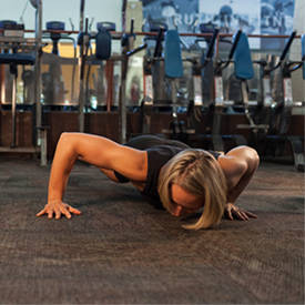 Side To Side Push-Up