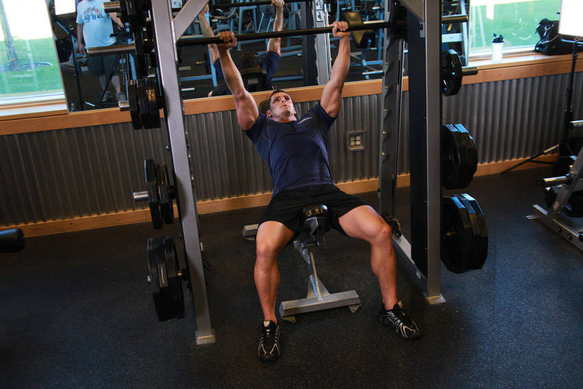 Smith Incline Shoulder Raise image