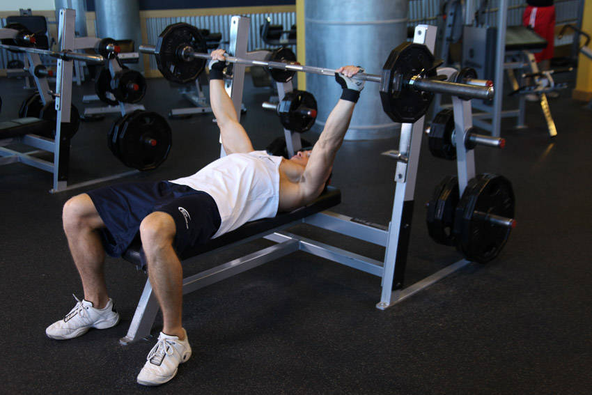 Wide Grip Barbell Bench Press Exercise Guide And Video