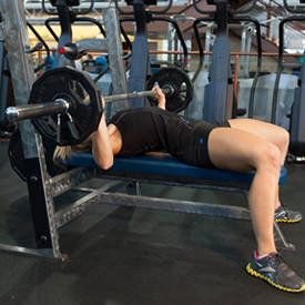 Barbell Bench Press-Wide Grip