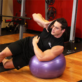 Weighted Ball Side Bend image