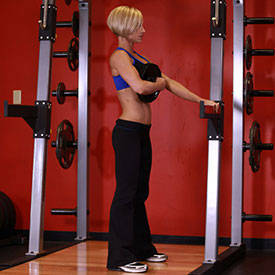 Weighted Sissy Squat