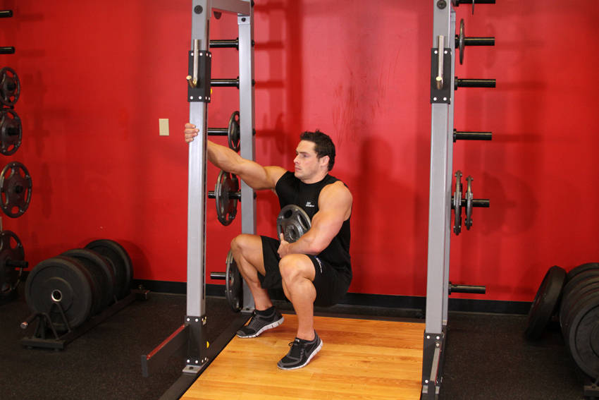 Squats Before And After I.C.E. Program #10 - T...