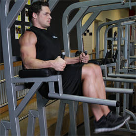 Dumbbell weighted knee raise