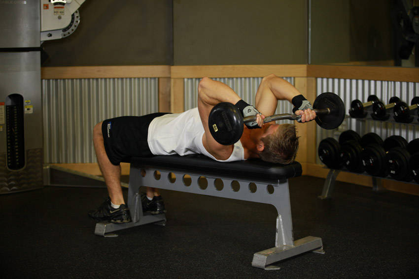 4 French Presses Or Lying Triceps Extensions Skull Crushers
