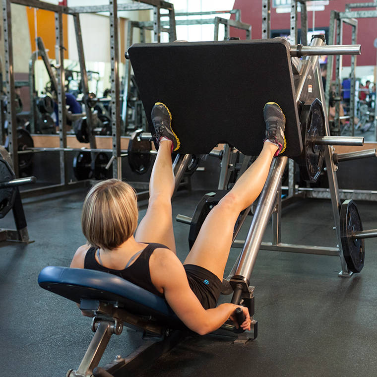 Wide-Stance Leg Press image