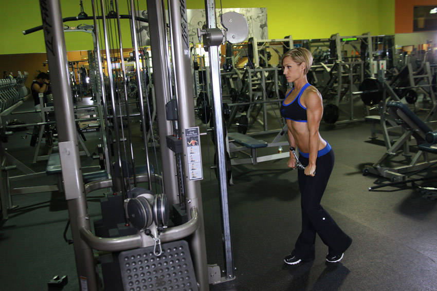 Triceps Pushdown Exercise Guide And Video