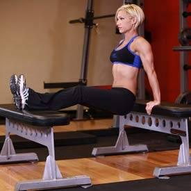 Triceps bench dip