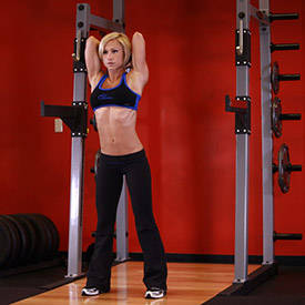 Standing Dumbbell Triceps Extension