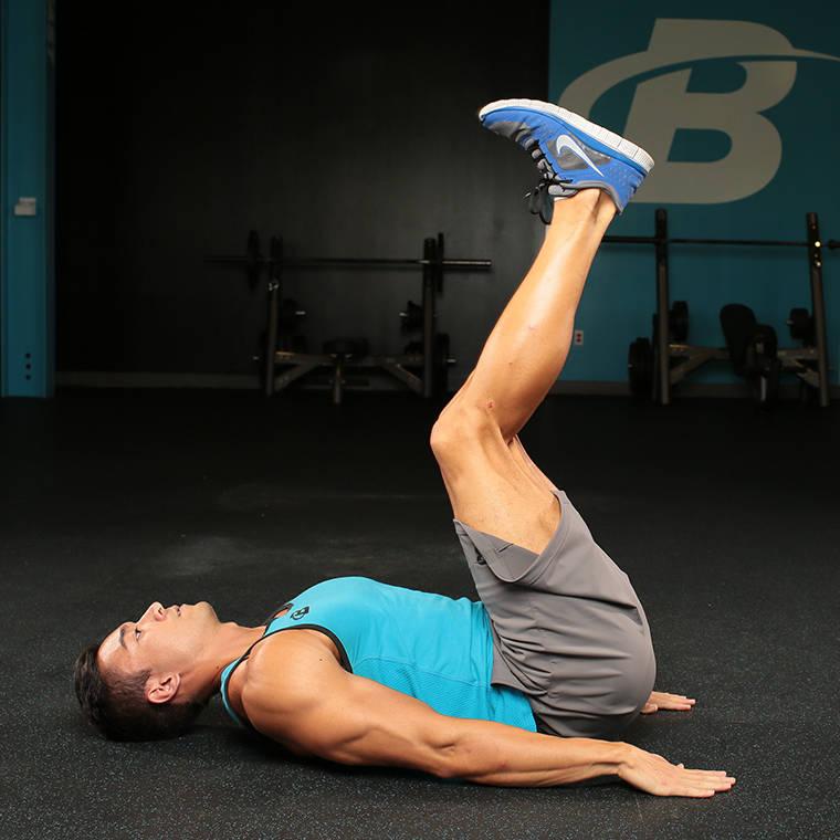 Straight-Legged Hip Raise image