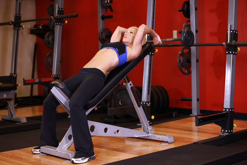 incline tricep extension - photo #16