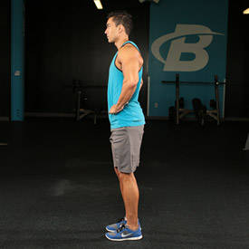 Bodyweight Reverse Lunge