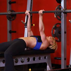 Reverse Triceps Bench Press