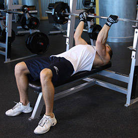 Reverse-Grip Decline Bench Press