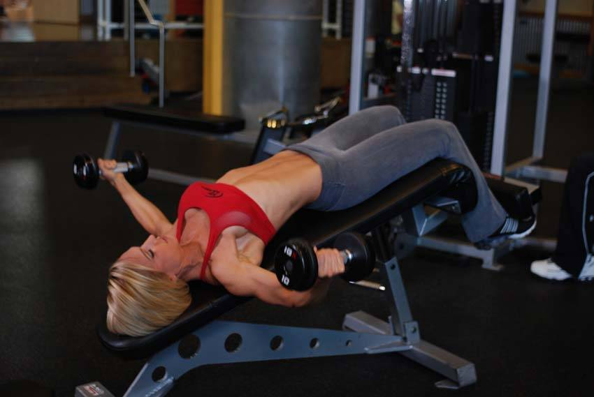 Decline Dumbbell Flyes Exercise Guide and Video