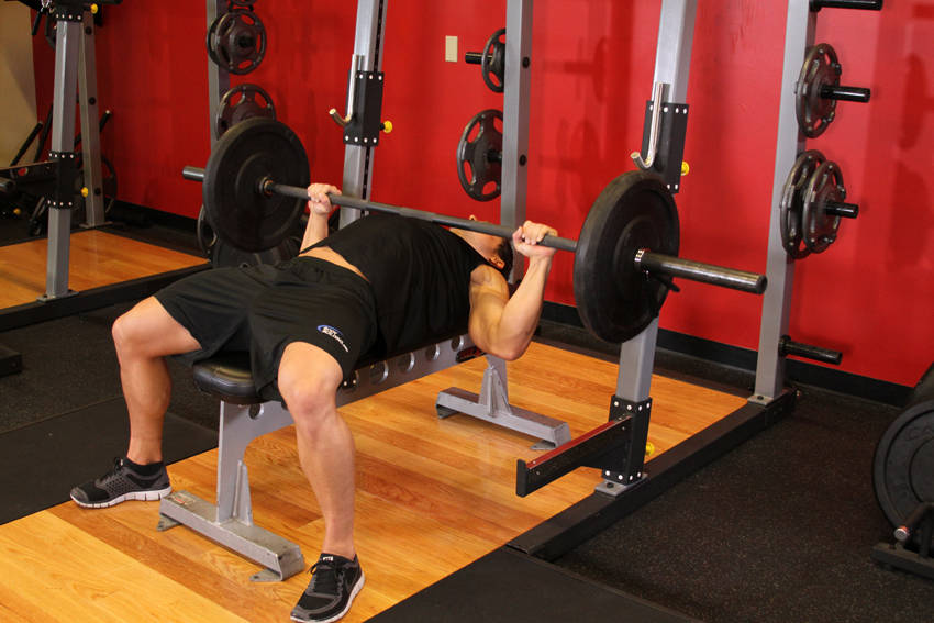 barbell bench press for chest fastfitness4u