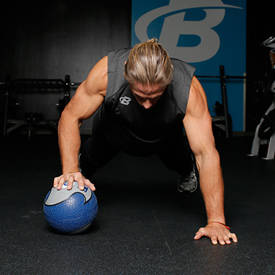 Medicine-Ball Push-Up
