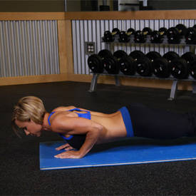 Push-Ups - Close Triceps Position