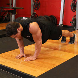 Close-grip push-up