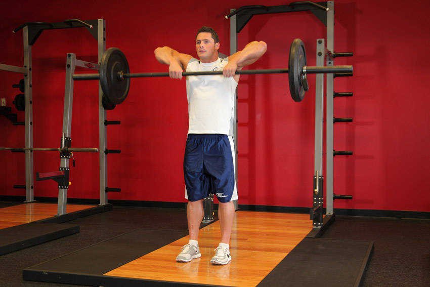 Upright Barbell Row Exercise Guide and Video