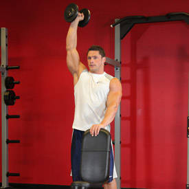 One-Arm Dumbbell Shoulder Press