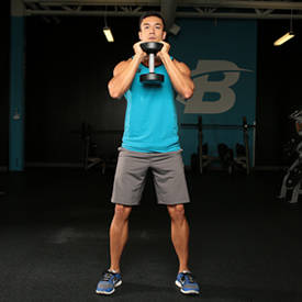 Dumbbell Goblet Squat