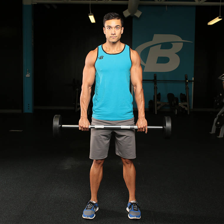Barbell Front Raise Exercise Guide and Video
