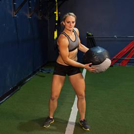 Medicine Ball Rotational Throw