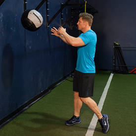 Medicine-ball rotational throw