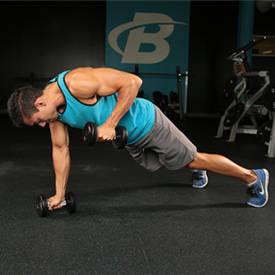 Triceps plank extension