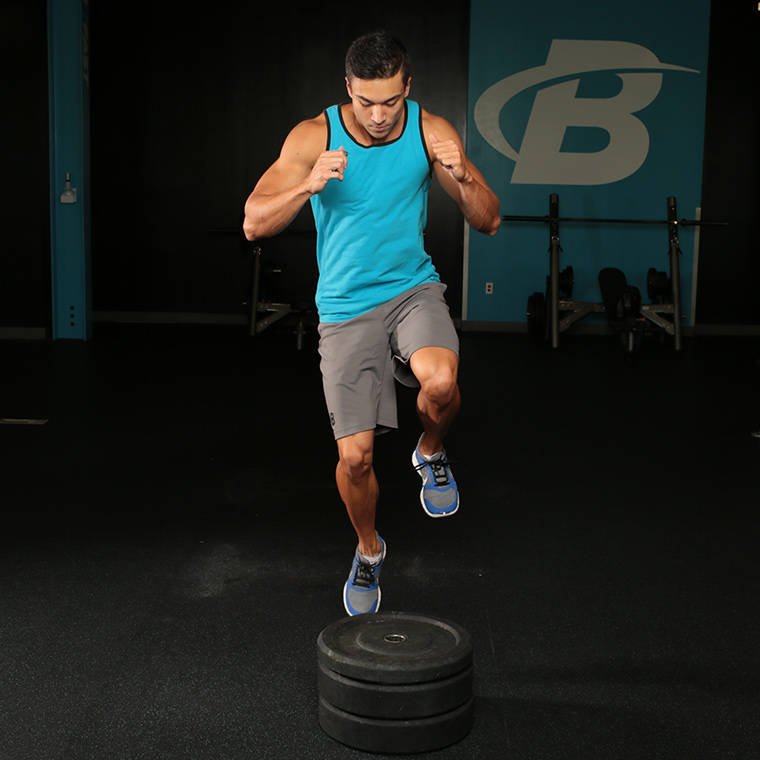 Single-Leg Box Jump image
