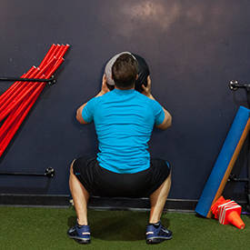 Wall Ball Squat