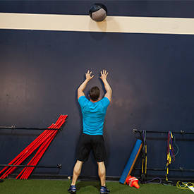 Wall Ball Squat