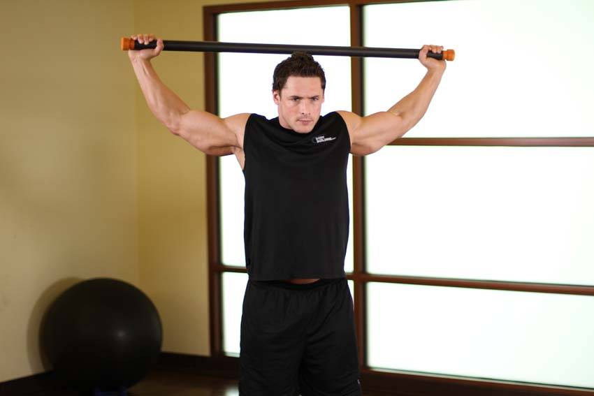 Chest And Front Of Shoulder Stretch Exercise Guide and Video