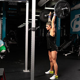 Barbell Thruster
