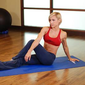 Dancer stretch